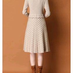 Đầm len cao cấp xinh xắn trẻ giá sỉ, giá bán buôn