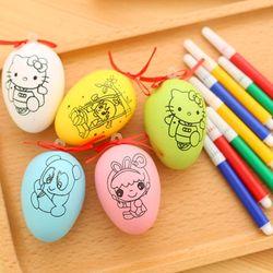 bộ trứng tô màu gồm 1 trứng và 4 bút 4 màu trứng có nhiều mẫu giá sỉ