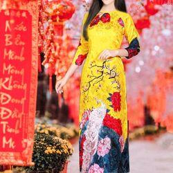 set áo dài truyền thống giá sỉ