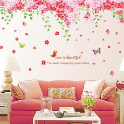 Decal dán tường hoa hồng - AY239 giá sỉ