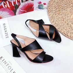 Giày sandal cao gót mới 7f siêu đẹp giá sỉ