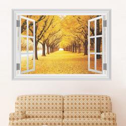 Decal dán tường khung cửa sổ - 14162 giá sỉ