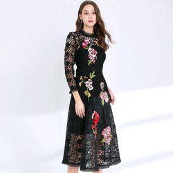Đầm ren hoa xinh cao cấp