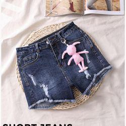 Quần sọt jeans nữ cao cấp đẹp Anfa giá sỉ