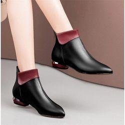 Giày boot nữ phong cách Châu Âu giá sỉ