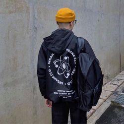 Áo khoác nam nữ in quả địa cầu giá sỉ