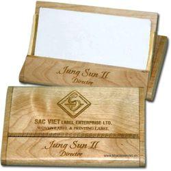 Hộp card gỗ