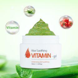 Gel lô hội bổ sung vitamin giúp phục hồi và làm mát da The Skin House