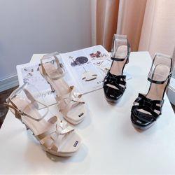 Giày sandal cao gót 12f siêu sang giá sỉ