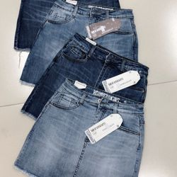 Váy jeans nữ đẹp Anfa giá sỉ