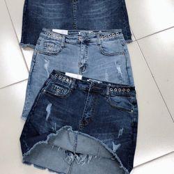 Quần váy jeans nữ đẹp Anfa giá sỉ