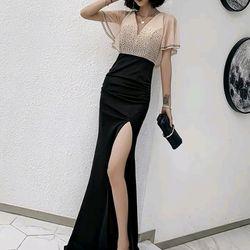 Đầm dạ hội đính đá cao cấp