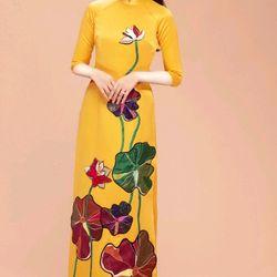 áo dài truyền thống in 3D cao cấp giá sỉ