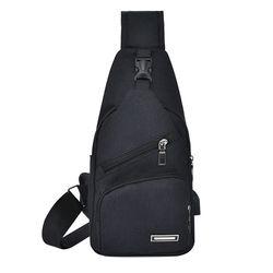 Túi Đeo Chéo Vải Giá rẻ màu đen