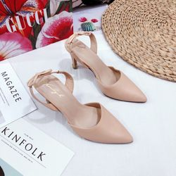 Giày sandal bít hậu hở gót mới 5f siêu chất