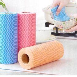 Cuộn 50 khăn giấy vải không dệt đa năng giá sỉ