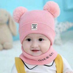 Set Khăn Mũ Len Cho Bé Yêu giá sỉ