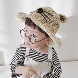 Mũ Bo Cói Mềm Mèo Cho Bé giá sỉ