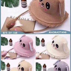 Mũ Cói Tai Thỏ Bóp Giật Cho Bé giá sỉ, giá bán buôn