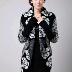 áo khoác len lông giá sỉ, giá bán buôn