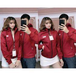 Áo khoác dù cặp đôi 4 màu giá sỉ