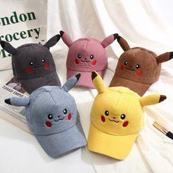 Hàng Có Sẵn - Mũ Pikachu Lưỡi Trai Cho Bé giá sỉ