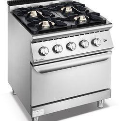 Bếp âu 4 họng kèm lò nướng furnotel giá sỉ