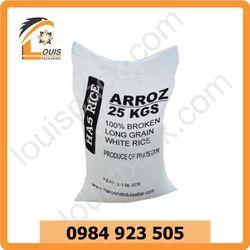 Bao bì đựng sản phẩm gạo - nội địa giá sỉ