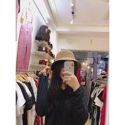 Mũ Cói Chữ M Nữ Phong Cách Hàn Quốc giá sỉ