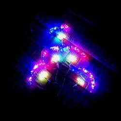 Dây đèn led hiệu ứng pháo hoa nhiều màu 500 led