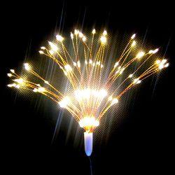 Dây đèn led hiệu ứng pháo hoa màu vàng ấm
