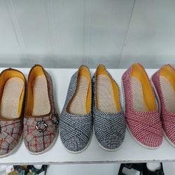 giày búp bê vải cực thoải mái giá sỉ