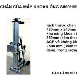 CHÂN CỦA MÁY KHOAN ỐNG AGP S500/1M giá sỉ, giá bán buôn