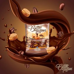 Kẹo mềm Arcor Butter Toffees Coffee Café 959gr/Túi giá sỉ