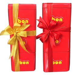 Kẹo Arcor Bon o Bon Chocolate 450gr - Hộp Thiếc 3 Tầng giá sỉ