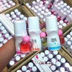 Lăn khử mùi nữ Snail White Thái Lan tặng kèm 1 chai nước hoa mini giá sỉ giá bán buôn giá sỉ