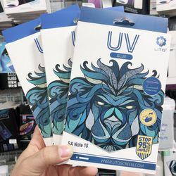 Kính cường lực keo UV LiTo s10s10 Plus note 10 note 10 pro giá sỉ