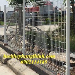 Chuyên sản xuất hàng rào lưới thép sơn tĩnh điện D4 D5 mắt 50x150 50x200 giá sỉ