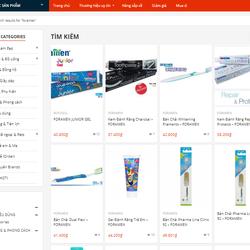 Các sản phẩm chăm sóc răng miệng FORAMEN - Tây Ban Nha cần tìm nhà phân phối/ đại lý toàn quốc giá sỉ