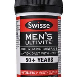Bổ sung vitamin tổng hợp nam giới trên 50 tuổi Swisse Men Ultivite 50 60 viên giá sỉ