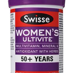 Vitamin tổng hợp cho phụ nữ trên 50 tuổi Swisse Women's Ultivite 50 60 viên giá sỉ
