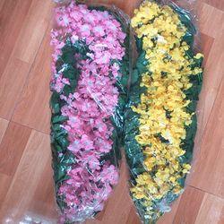 Hoa giả - Hoa rủ mới - Hoa lụa cao cấp trang trí nhà cửa