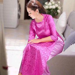 áo dài truyền thống đủ màu áo và quần giá sỉ