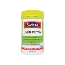 Swisse Ultiboost Liver Detox 200 Tablets - Viên uống giải độc gan và bổ gan từ Úc giá sỉ