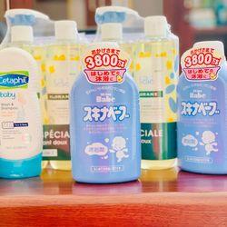 Sữa tắm trị rôm sẩy Skina Babe 500ml nội địa Nhật giá sỉ, giá bán buôn