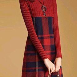 Đầm len cao cấp có 3màu