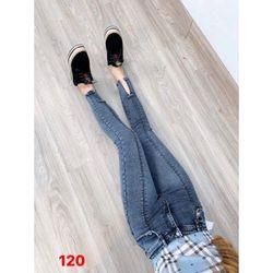 Quần Jeans Nữ Xẻ V giá sỉ