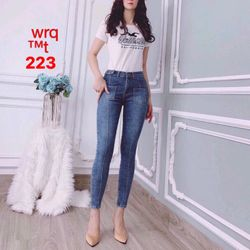Quần Jeans Nữ túi kiểu trước giá sỉ