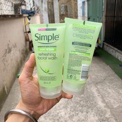 Sữa rửa mặt Simple giá sỉ