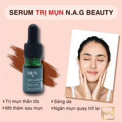 Serum trị mụn nag beauty ANTI ACNE